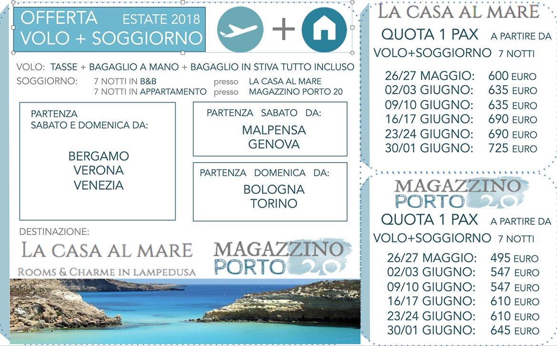 Emejing Lampedusa Pacchetti Volo Soggiorno Gallery - Design Trends ...